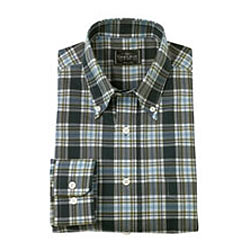 Check Shirt in Dark  Shade from 4Forty