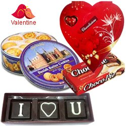 I Love You Chocolate Hamper