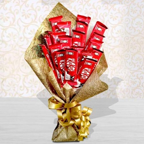 Exclusive Bouquet of Kitkat Chocolates