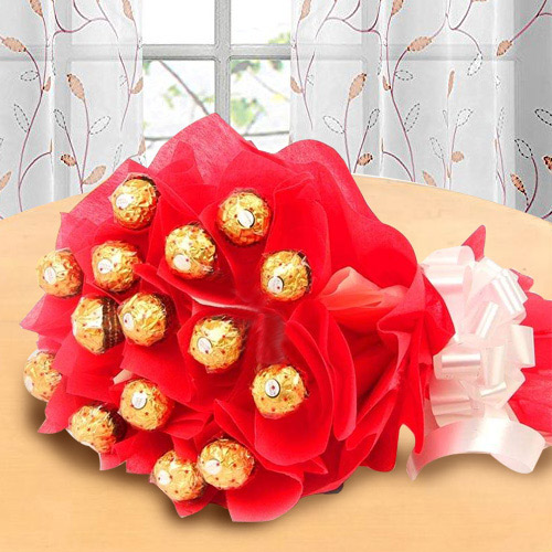 Wonderful Bouquet of Ferrero Rochher Chocolate