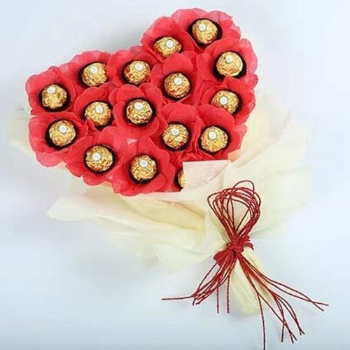Amazing Bouquet of Ferrero Rocher Chocolate