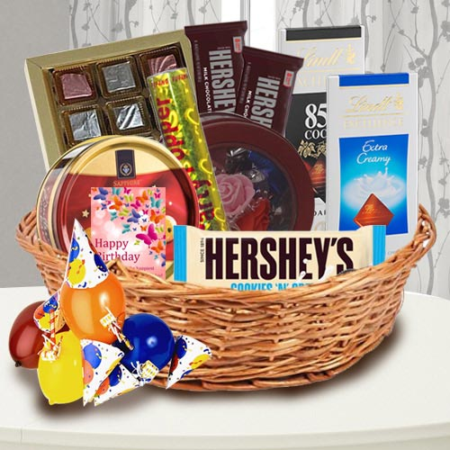 Exclusive Chocolate Gift Basket