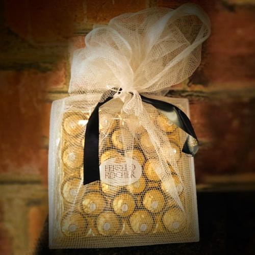 Delicious Ferrero Rocher Net Wrapped Gift