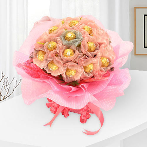 Marvelous Ferrero Rocher Chocolates Bouquet