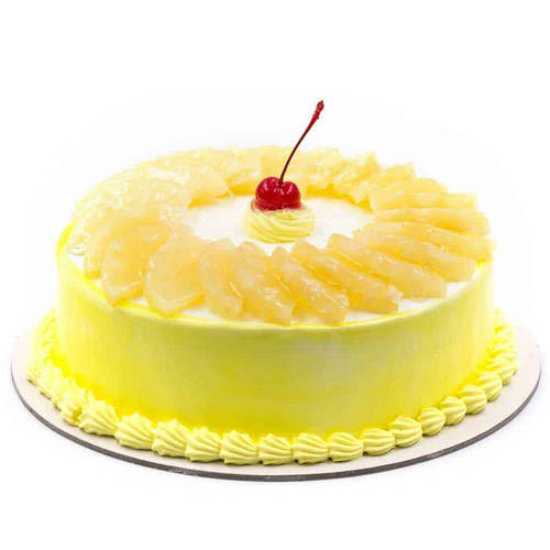 Delicious Pineapple Cake from Taj or 5 Star Hotel Bakery