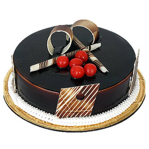 Sumptuous Dark Chocolate Truffle Cake