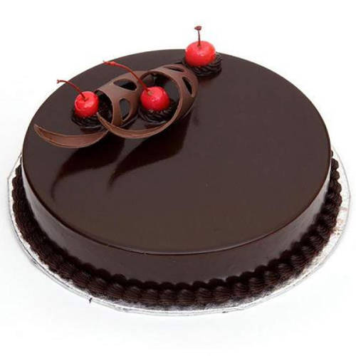 Enticing Eggless Chocolate Cake