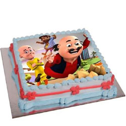 Marvelous Motu Patlu Cake for Kids