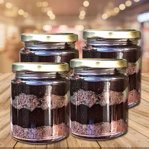 Tempting Chocolate Jar Cakes Pack