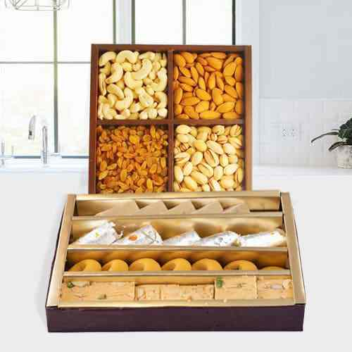 Haldirams Mixed Sweets with Assorted Dry Fruits