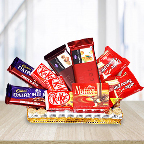 Delightful Assortment of Chocolaty Goodies
