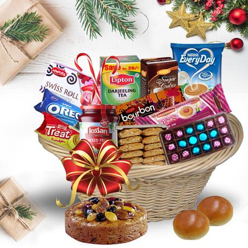 Basketful of Sizzling Christmas Bites<br>
