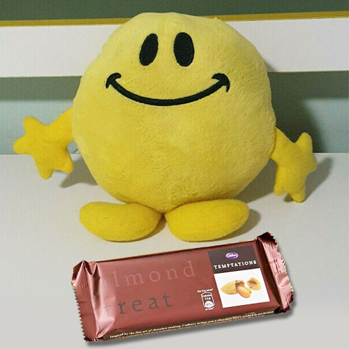 Cushy Soft Toy and Temptation Chocolate Duple
