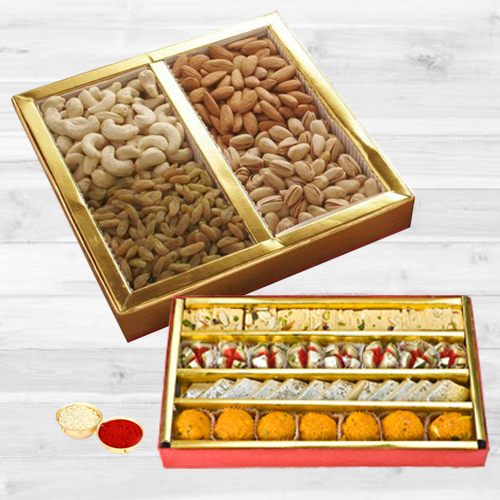 Sweets and Dry Fruits Hamper