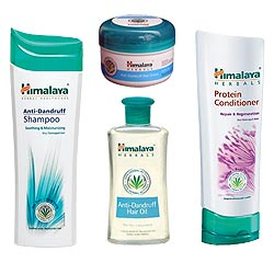 Wonderful Himalaya Herbal 4-in-1 Hair Care Pack
