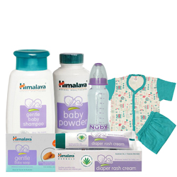Spectacular Combination of Baby Care Gift Items