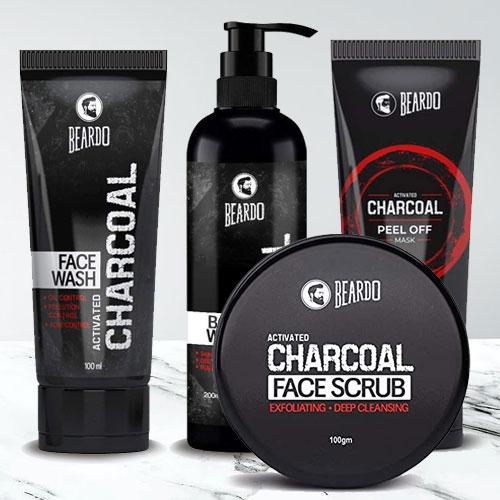 Exclusive Beardo The Dirty Charcoal Combo