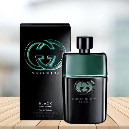 Astonishing GUCCI Mens Guilty Black Eau De Toilette
