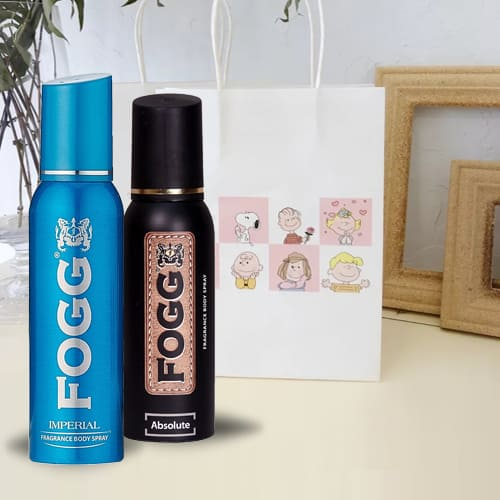 Charismatic Fogg Imperial Fragrance and Absolute Fragrance Body Spray for Men