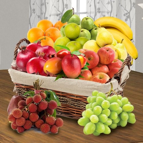 Mummas Delight Fresh Fruits Basket
