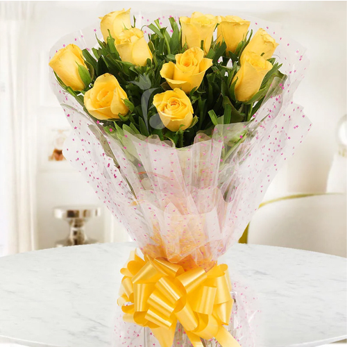 Fantastic Yellow Roses Bouquet