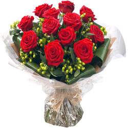 Lovely Red Rose Bouquet