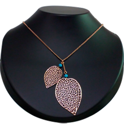 Ornate Heart-Shaped Gold-Plated Necklace with Tassel by Avon