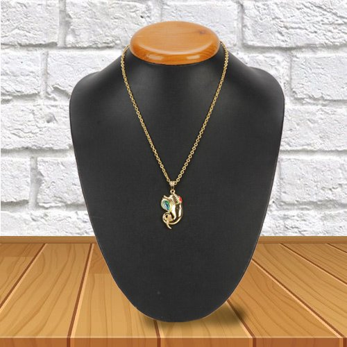 Beautiful Avon Ganesh Pendant for Women