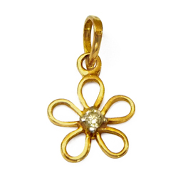 Anjali�s Spirited Finery (18K) Diamond Pendant