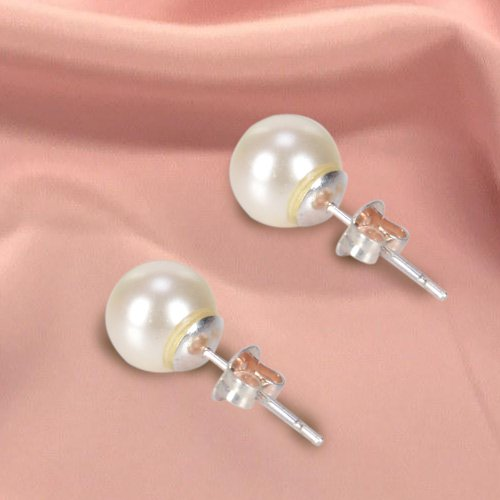 Exclusive Pearl Tops Earring Set