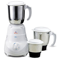 Smashing Bajajs Bravo Mixer Grinder Supplemented with 3 Jars