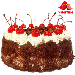 MidNight Delivery ::Black Forest Cake From Taj / 5 Star Hotel Bakery