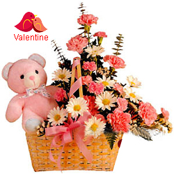 MidNight Delivery ::Bouquet with Teddy