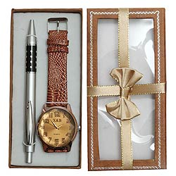 Wonderful Pen Gift Set with Watch