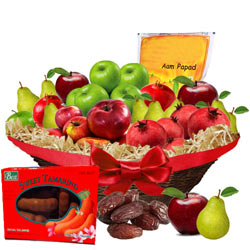 Tasty Fruit N Gourmet Hamper