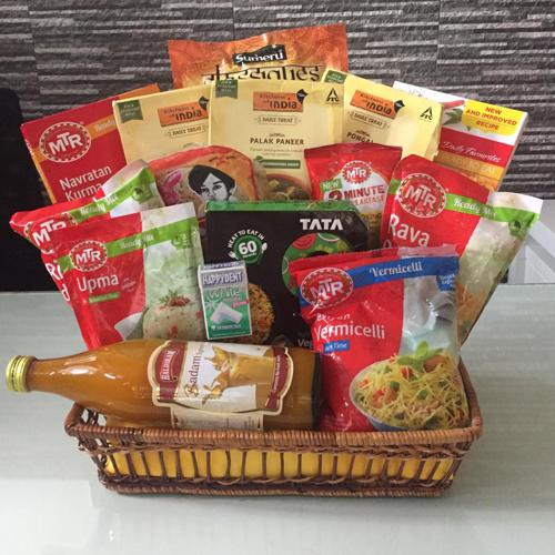 Exquisite Indian Dinner Gift Hamper