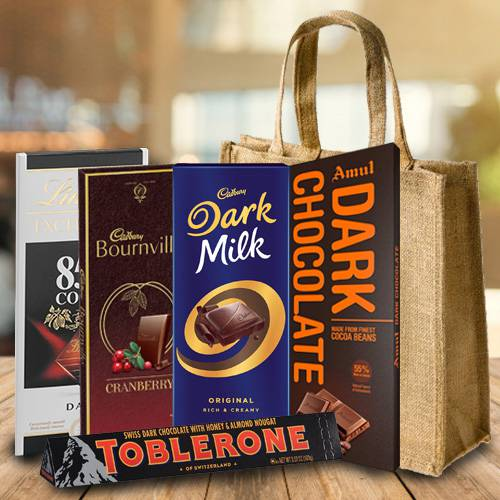 Amazing Dark Chocolates Gift Hamper