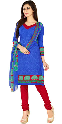 Stylish Women�s Collection of Printed Salwar Suit from Welcome