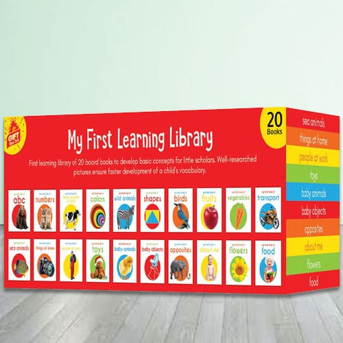 My First Learning Library Box Set of Amazing Books