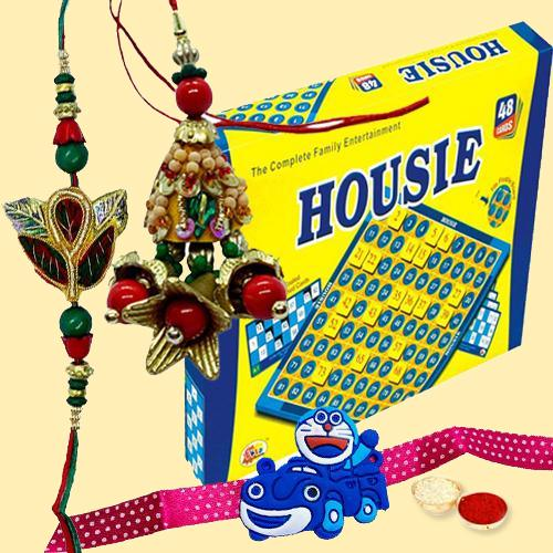Incomparable Housie Deluxe Family Board Game with Chocolates