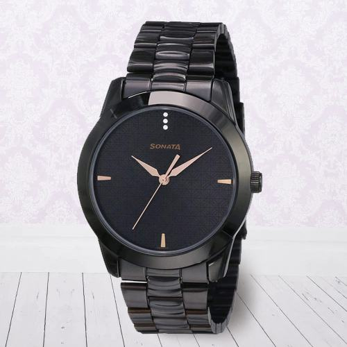 Lovely Sonata Analog Mens Watch