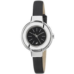 Superb Black Dial Ladies Fastrack Watch