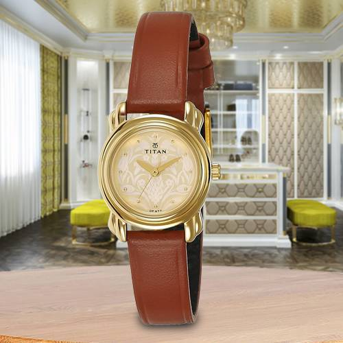 Wonderful Titan Analog Womens Watch